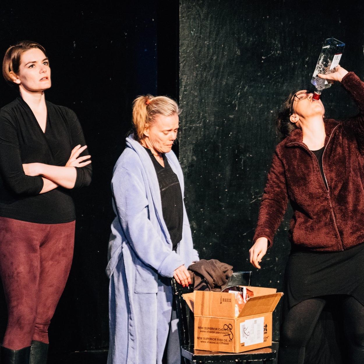 "Caitlin Doyle, Katherine Alt Keener, and Jojo Ginn in ""The Triune Brain"""