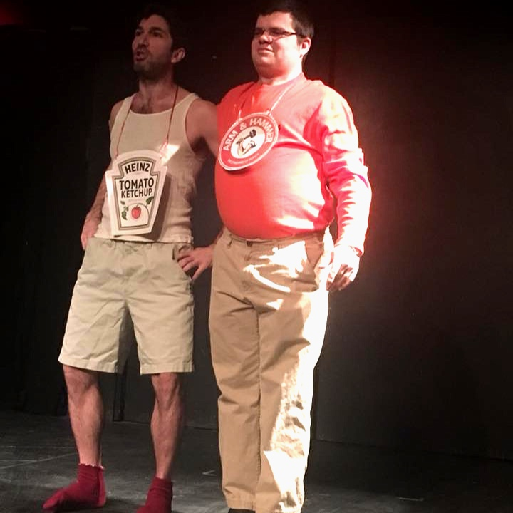 "Justin Yorio and Ben Dworken in ""The Refrigerator Play"""