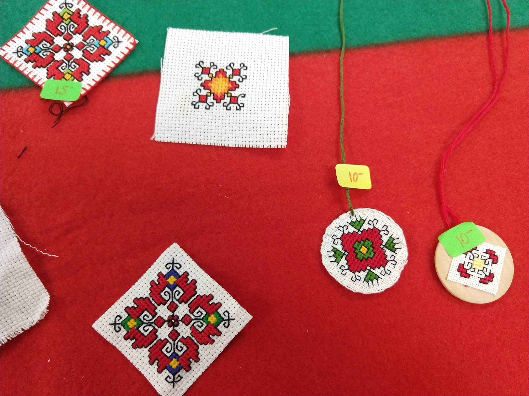 Made in 'Bulgarian embroidery' gathering 2019