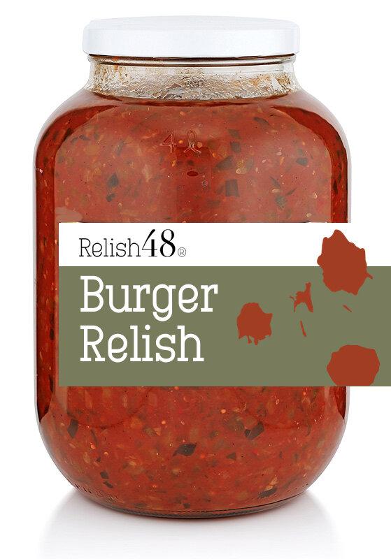 Burger Relish 4kg Relish48