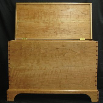 Alan Bourgault - Cherry Blanket Chest.jpg