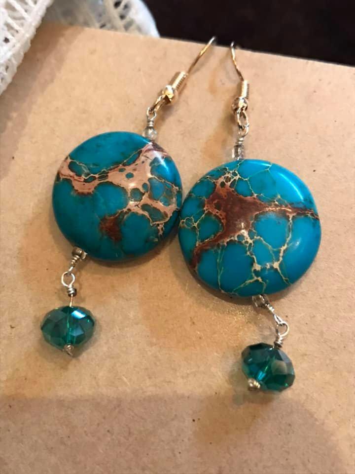 Paula Moyer - Turquoise Love earrings.jpg