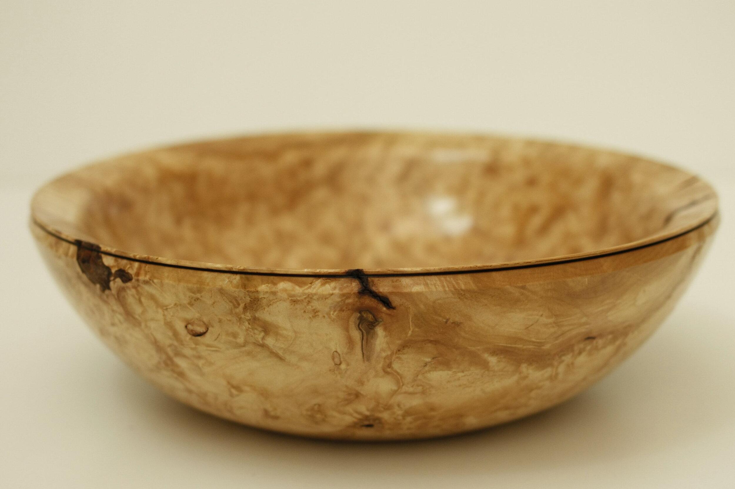 Joseph mcgill - maple burl bowl.jpg