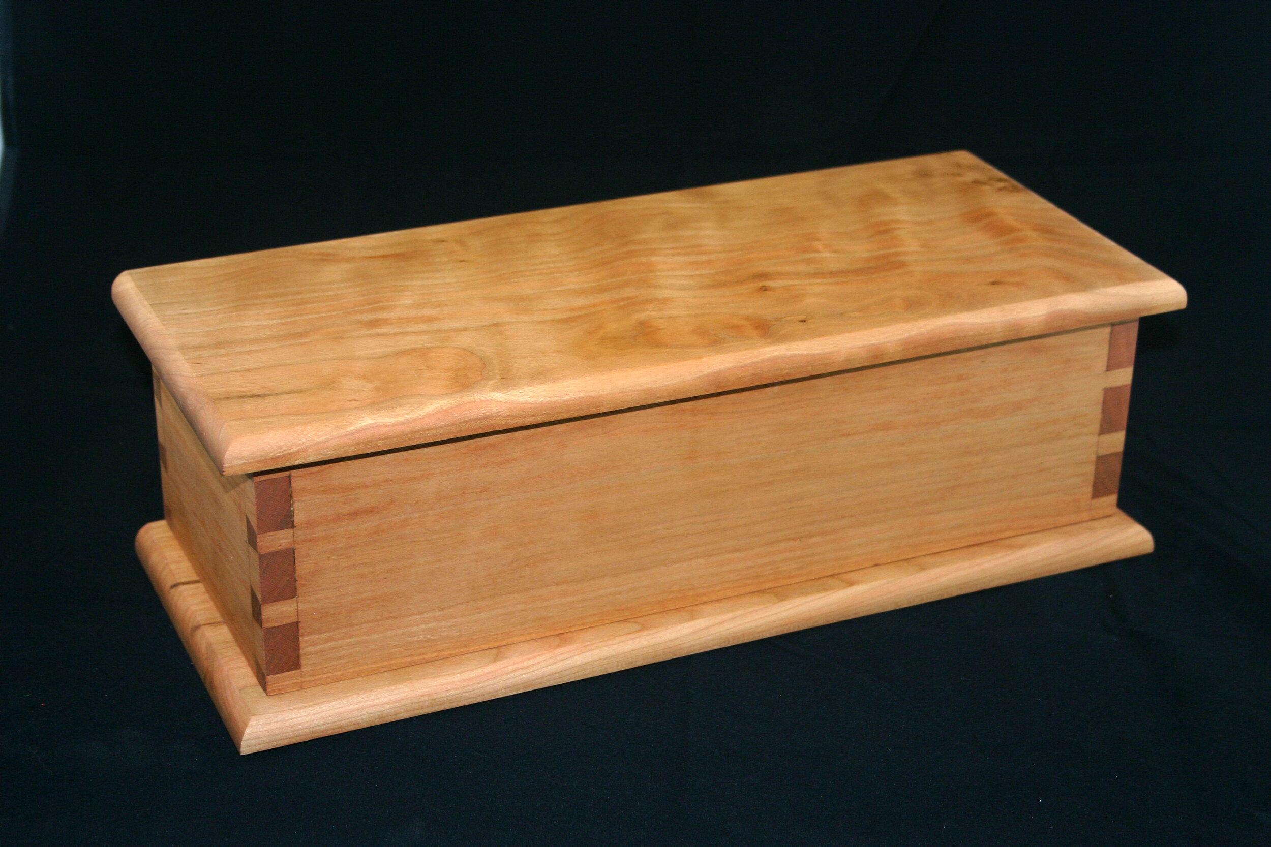 Alan Bourgault - Cherry Shaker Candle Box.JPG