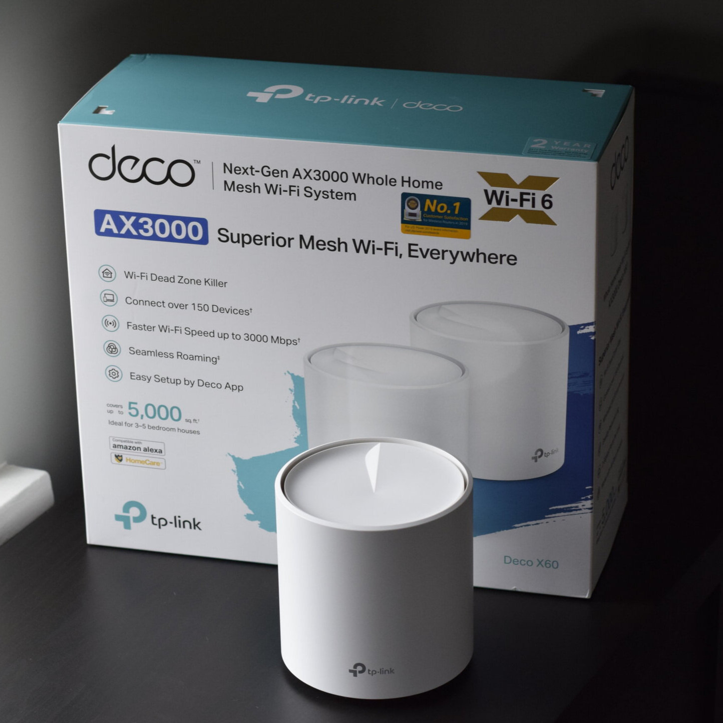 Deco X60 Review and Wi-Fi 6 Mesh Performance