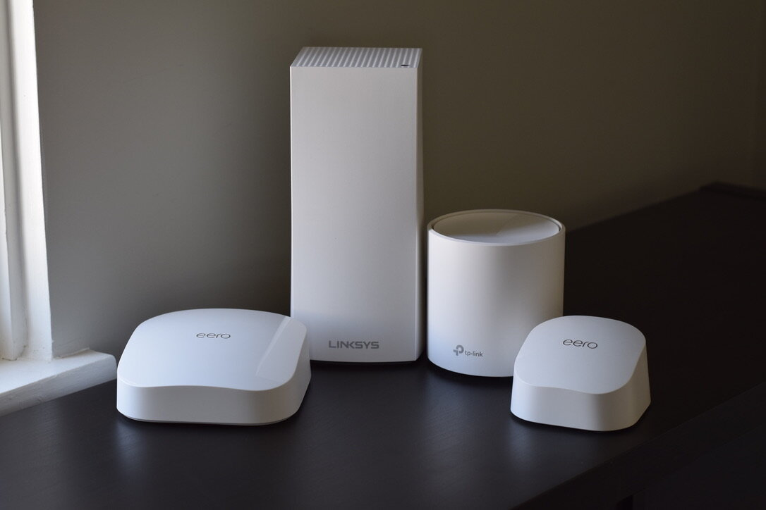 Wi-Fi 6 Mesh Comparison: Deco vs. Eero vs. Velop