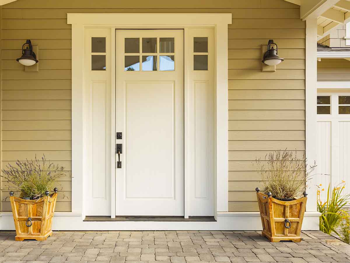 Shiplap in Fiber Cement  - A tried and true look that began with simple wooden boards was quickly replicated in vinyl and now the pattern of choice for the ever popular fiber cement siding. You can't go wrong with shiplap on your home.