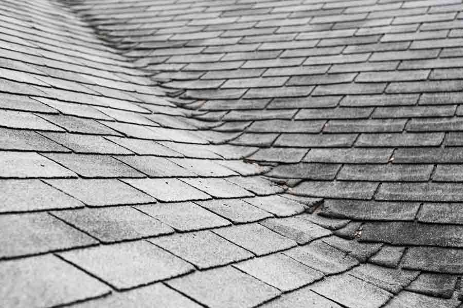 Rain runoff can do as much damage over time especially in valleys of your roof.