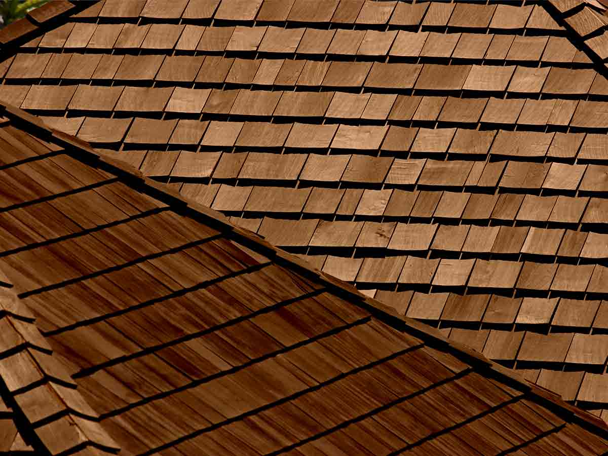 Classic Wood Shingle - A proven solution that stands-up to the elements and creates a very classic look. Historically shingles were split from straight grained from naturally rot-resistant woods, today the look is available is vinyl and fiber cement.