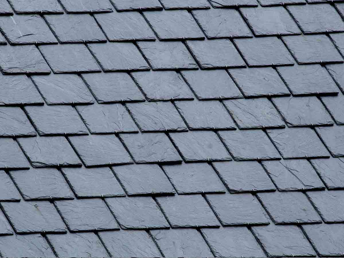Genuine Slate - The timeless look of slate is reserved for some of the most distinctive homes. This natural product is also available in a synthetic option to fit your budget.