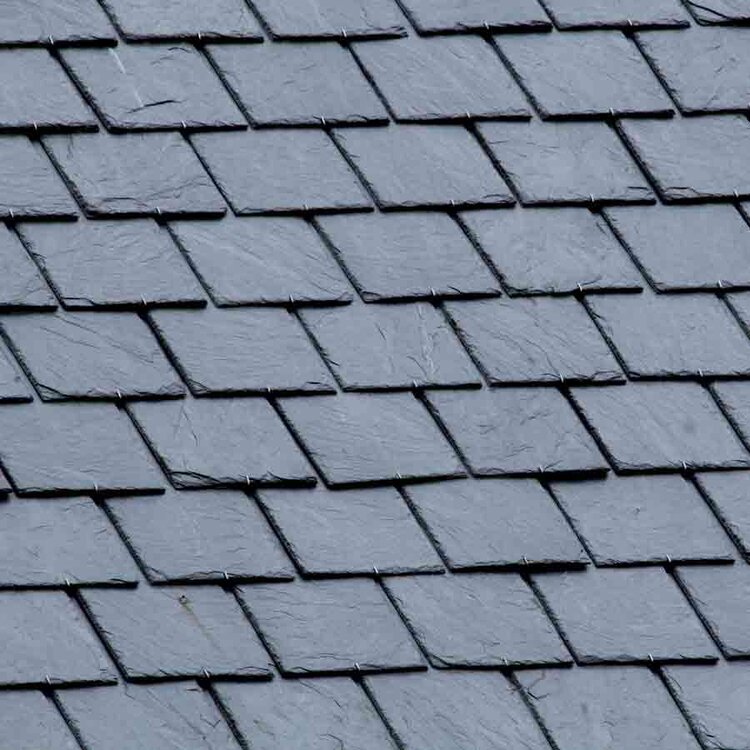 Roof Materials - In addition to a timeless new alternative to slate, we offer beautiful architectural shingles that add wonderful detail to your home.