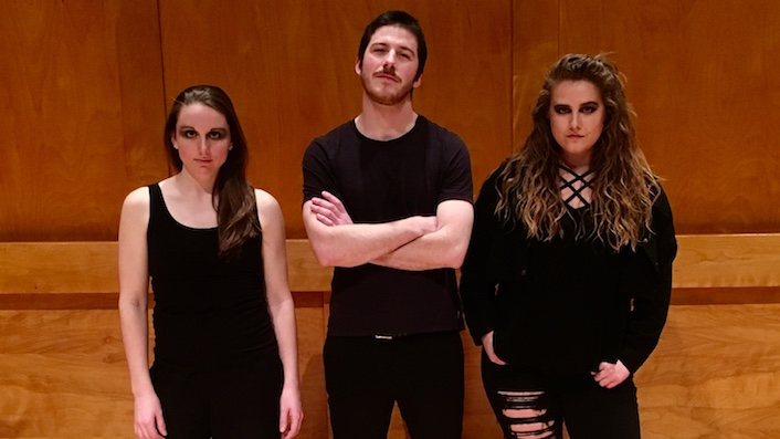 How We Met - After meeting as graduate students at Stony Brook University, Kathryn, Alina, and Peter formed a trio to perform Sept Crimes de l'Amour by Georges Aperghis. You can watch their first performance as an ensemble below.