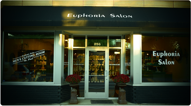 Thank you for choosing Euphoria Salon. We provide a professional environment for talented stylists and their guests.    We take great pride in our profession and our community. We look forward to your visit!