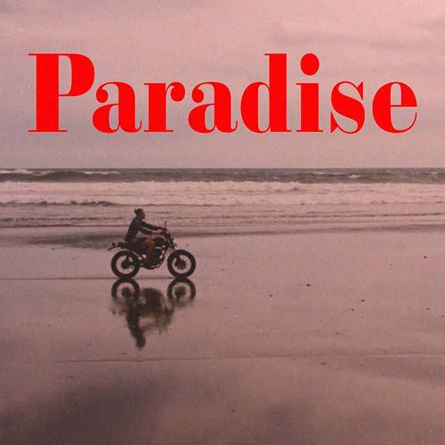 The #Paradise Official Lyric Video premieres TODAY at 2pm EST Link in bio.