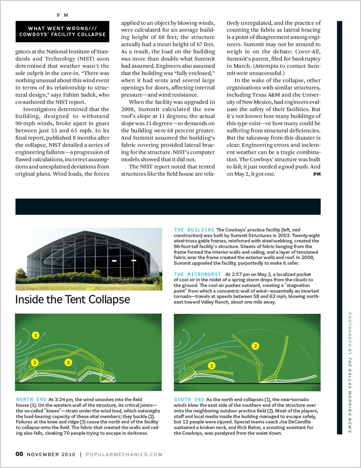Design for printed magazine