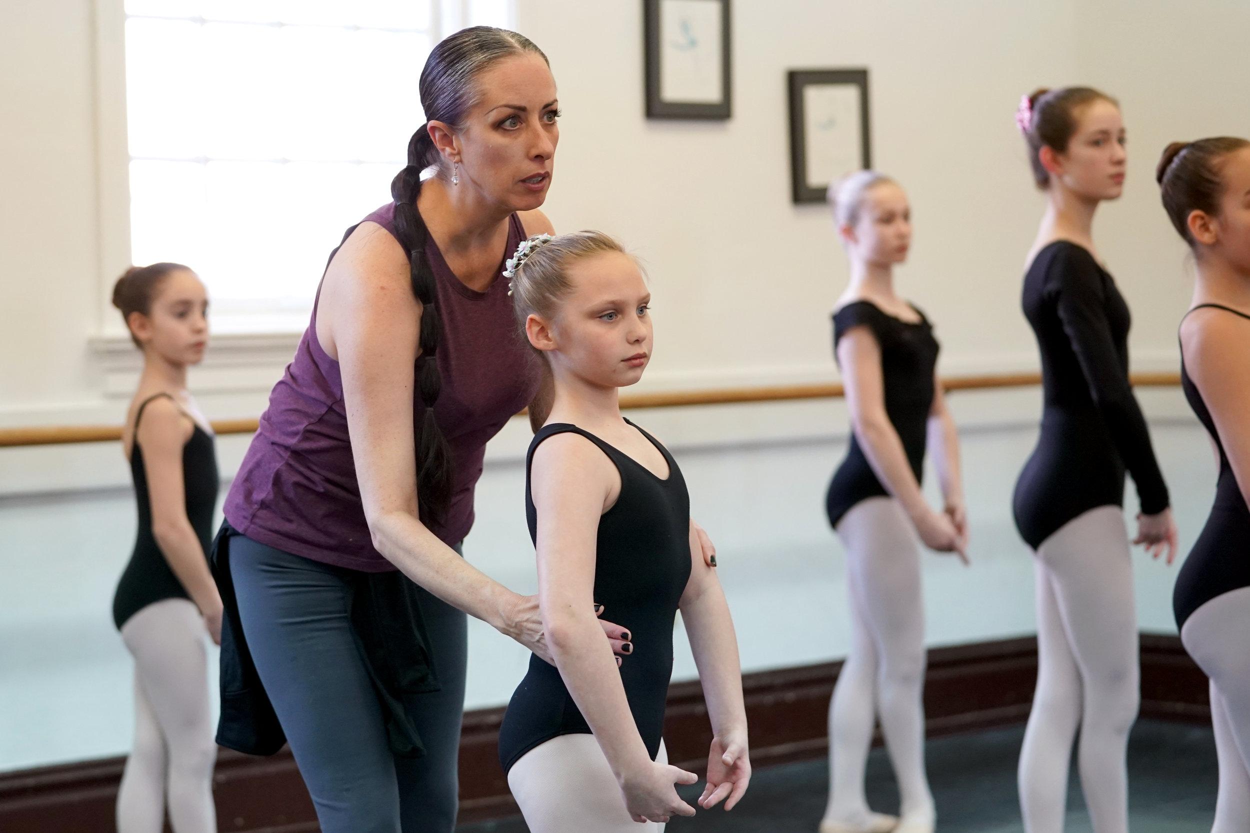 Kristina Grant teaching