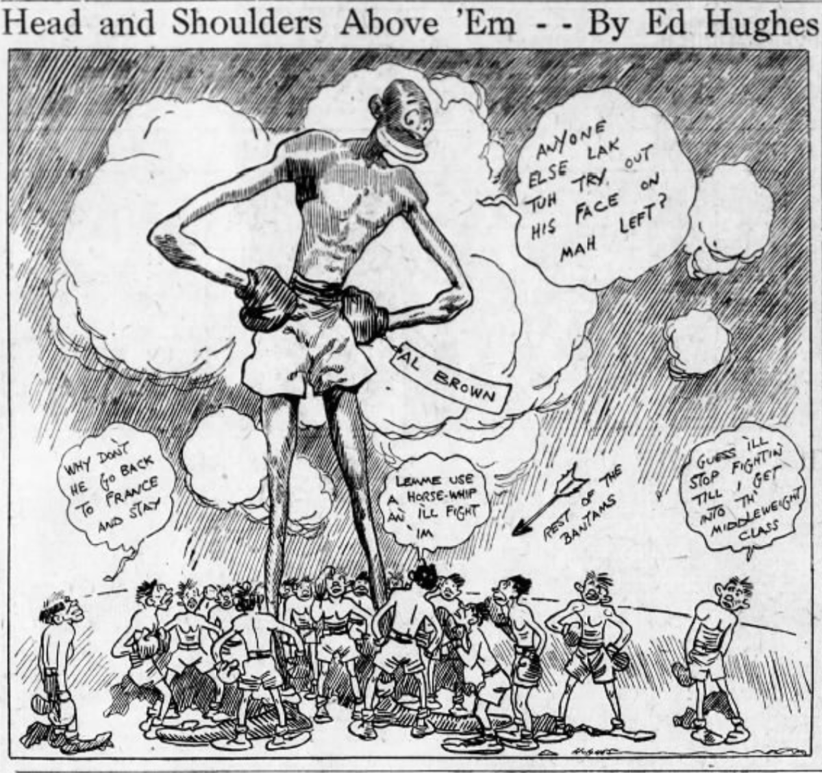 Cartoon originally published in ' The Brooklyn Daily Eagle',  June 19th, 1929