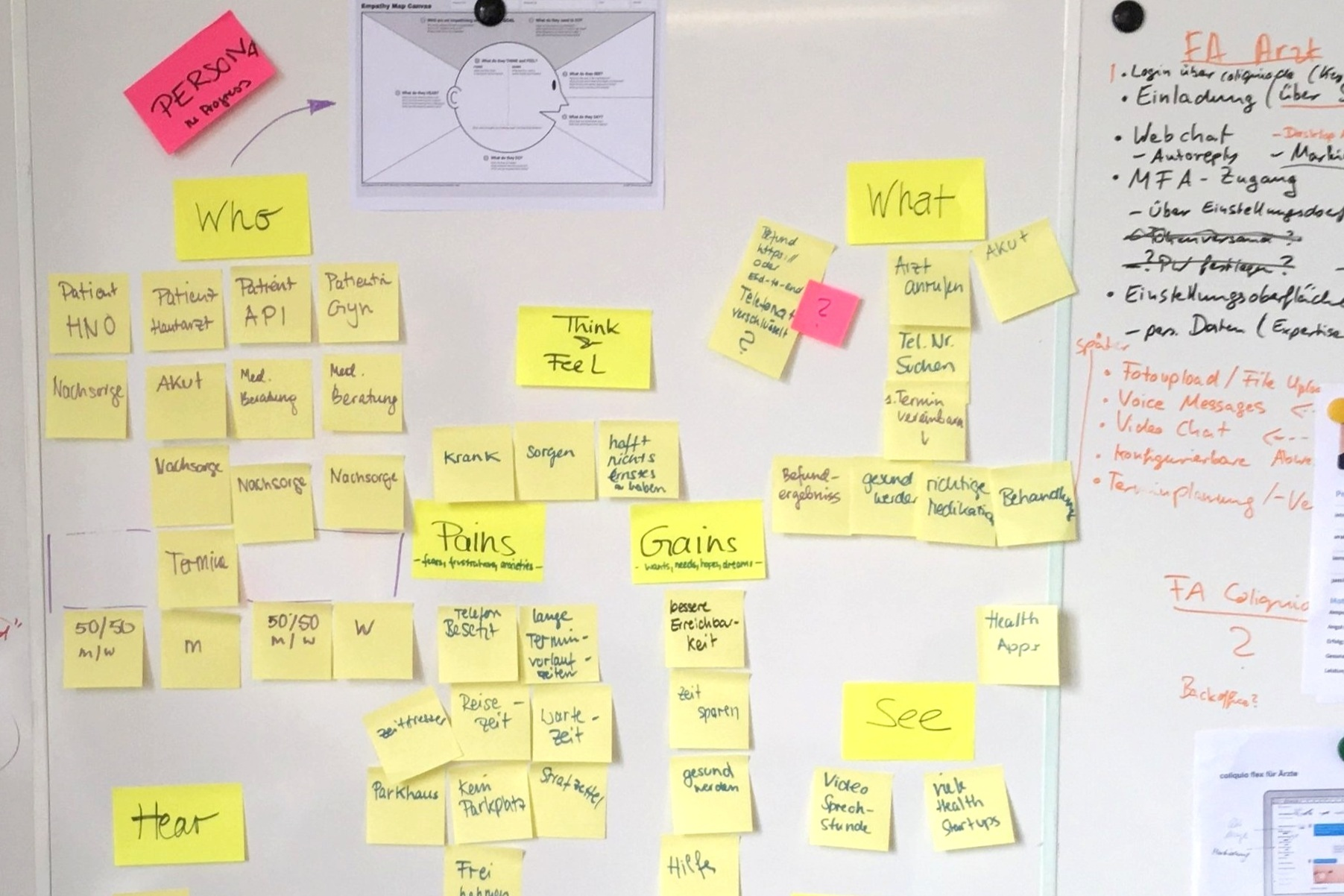 User Empathy Mapping