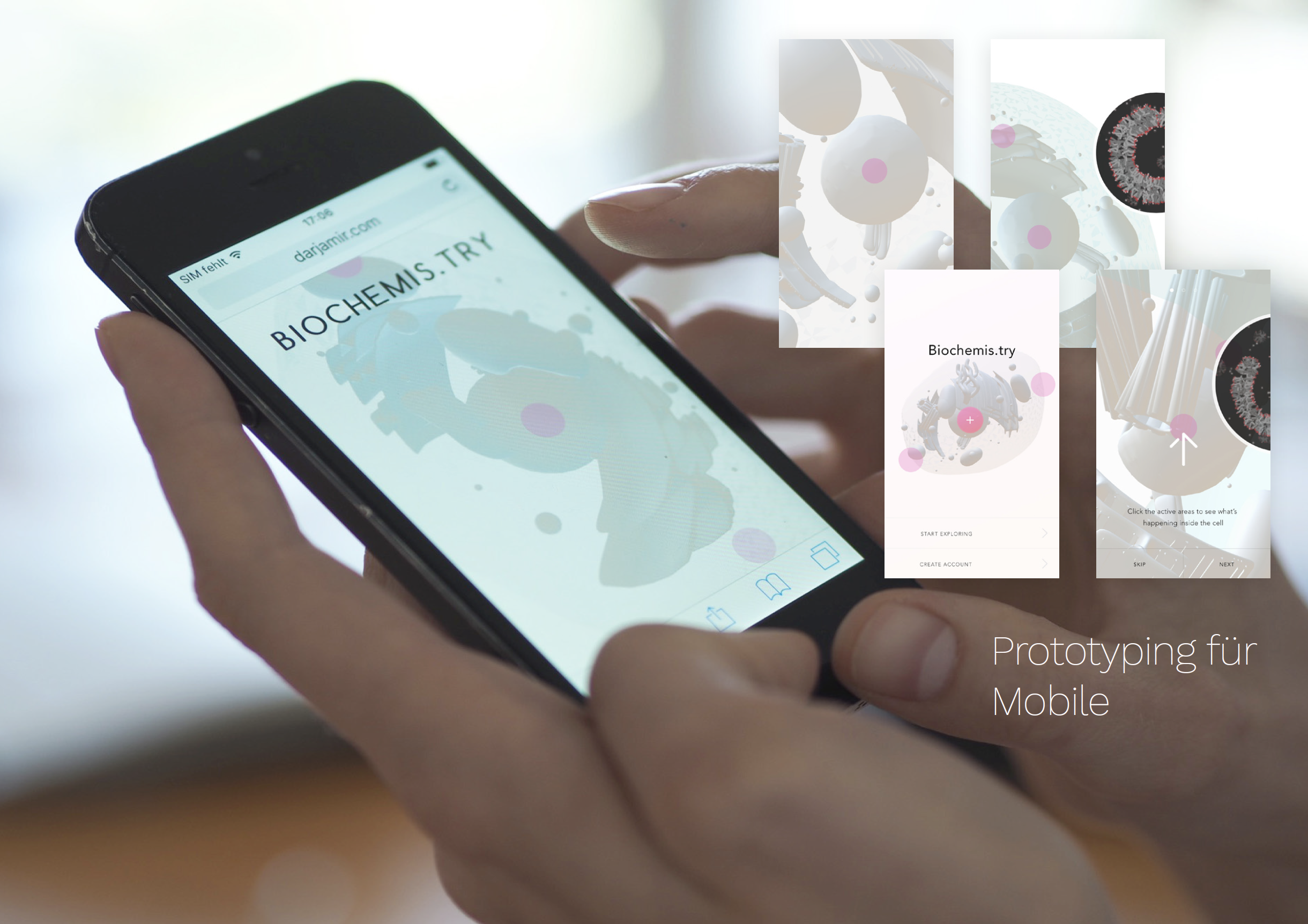 User Testing with mobile prototypes
