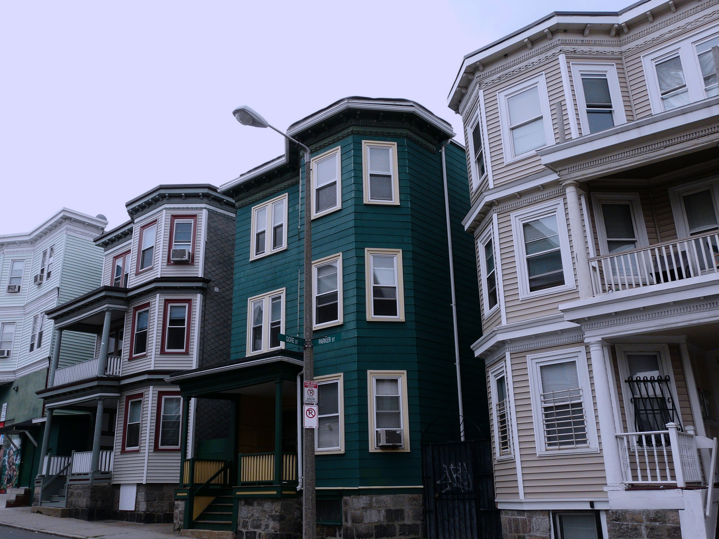 Zoning laws have changed so dramatically in Massachusetts that the housing shown here would not be possible to develop.
