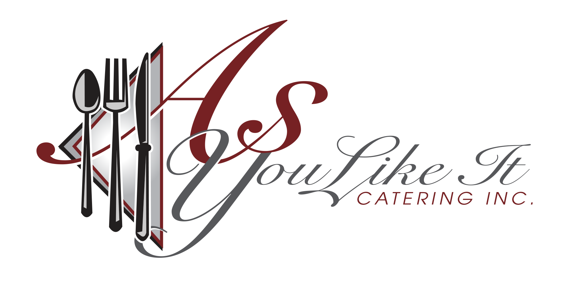 Entrées - includes Fresh Green Salad, Bread Basket, Tea and Ice, Disposable Table Service and Delivery Within City Limits.