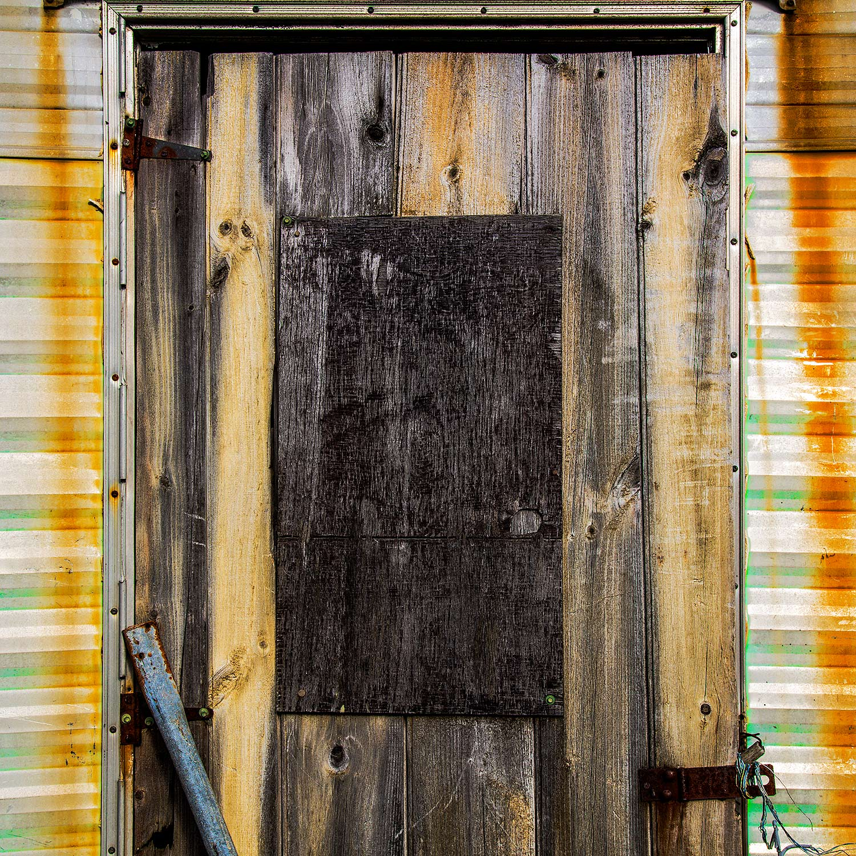 Door, Searsport, Maine, 2017