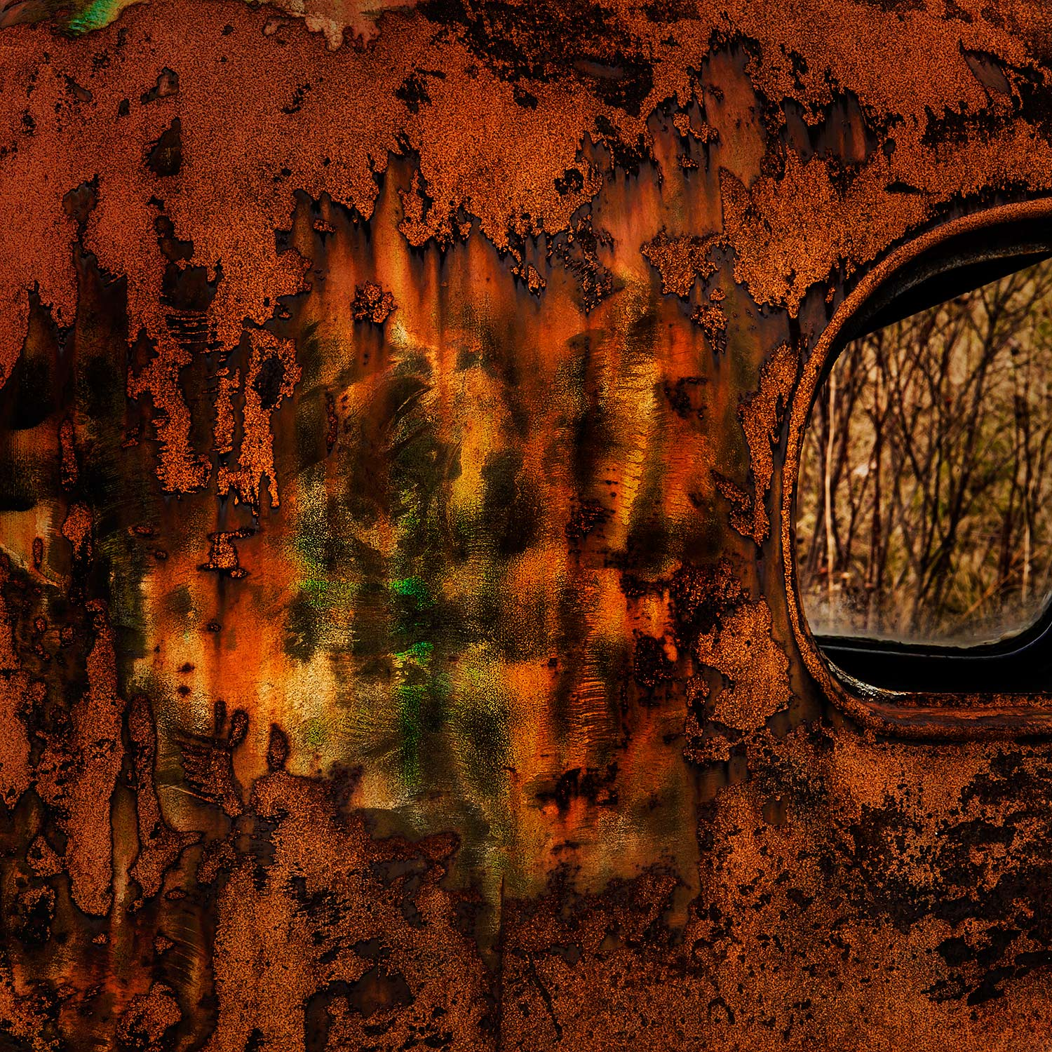 Rusted Truck, Bar Harbor, Maine, 2014