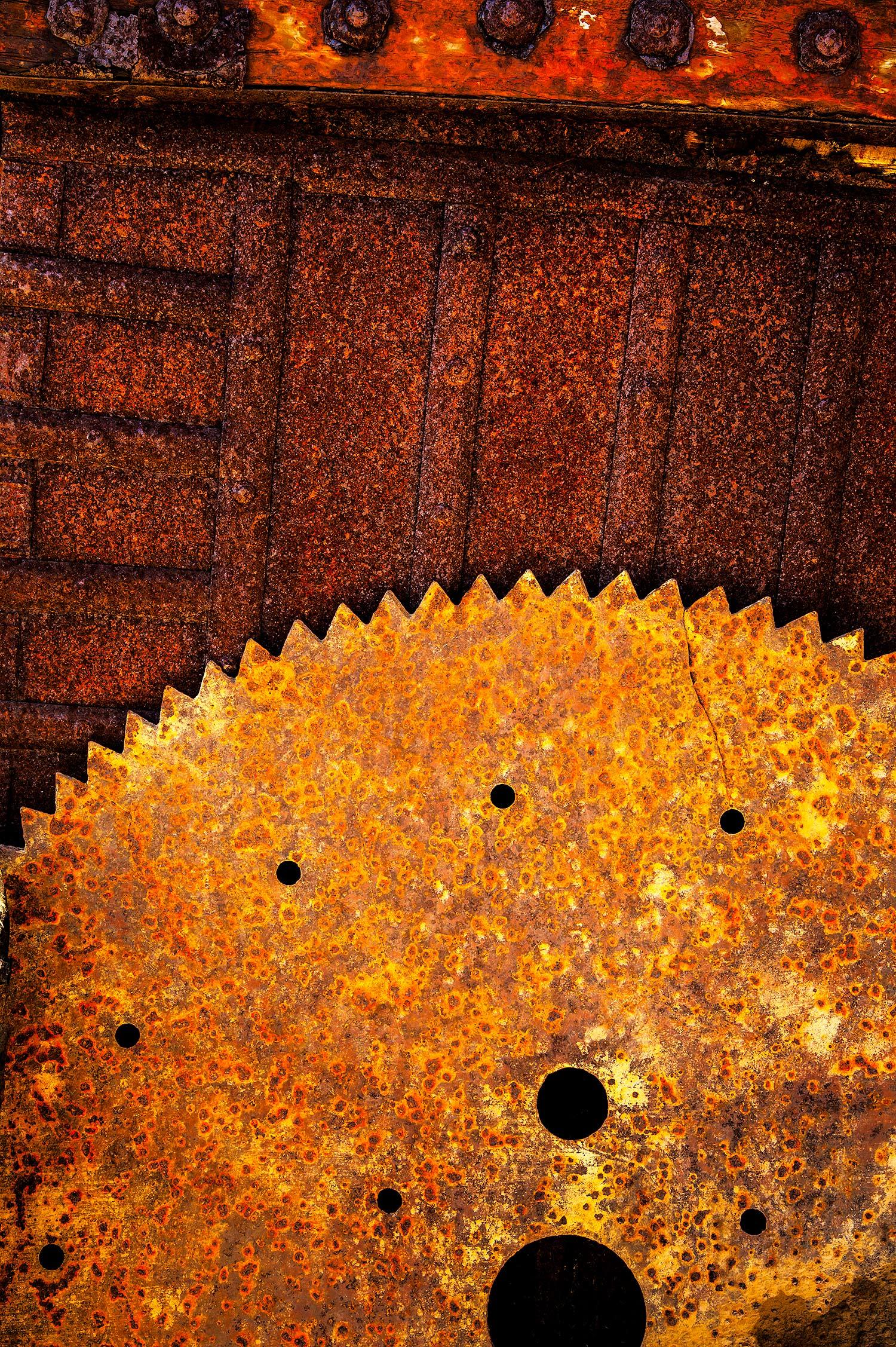 Rusted Metal, Searsport, Maine, 2013