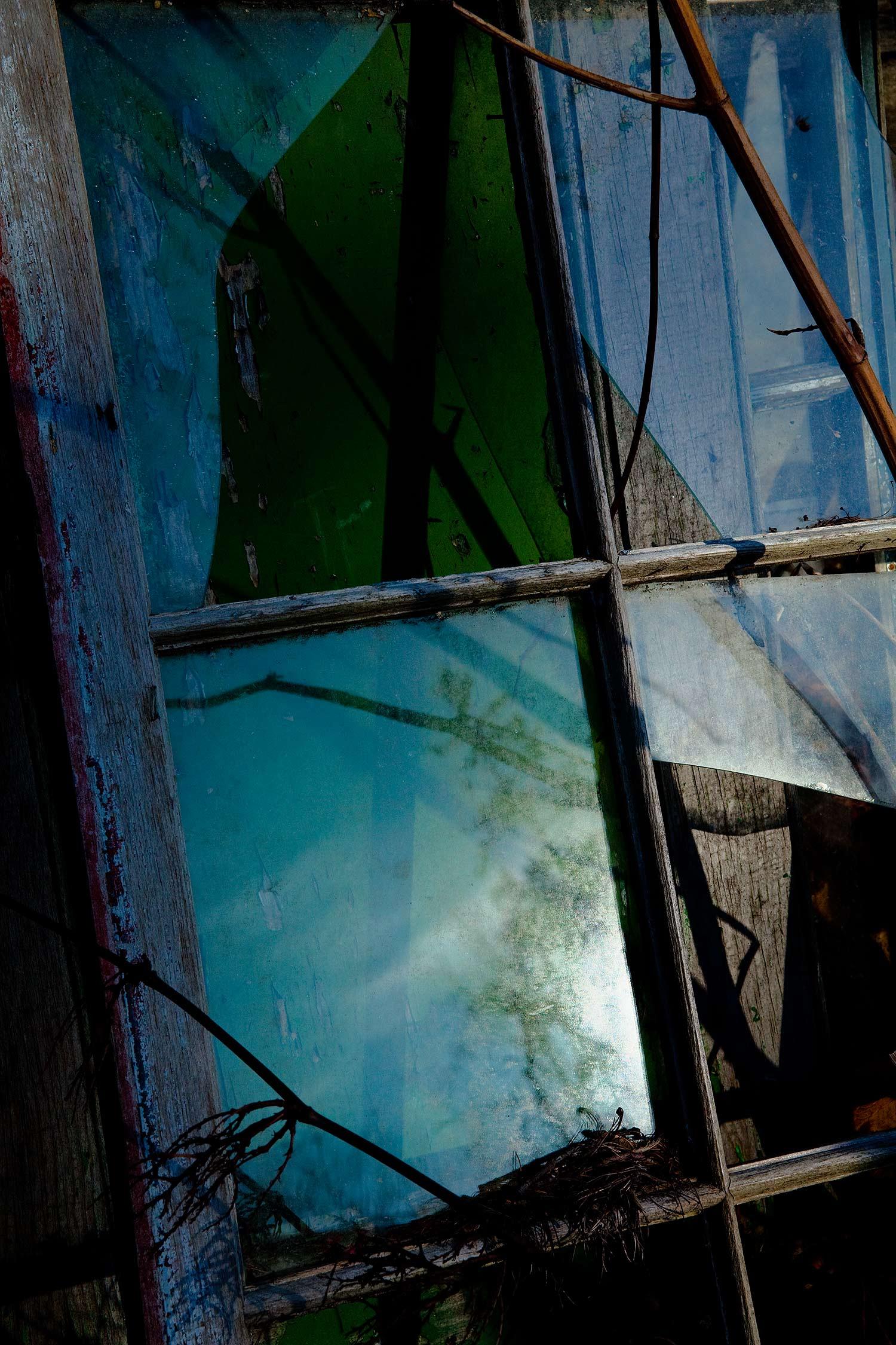 Broken Window, Bar Harbor, Maine, 2009