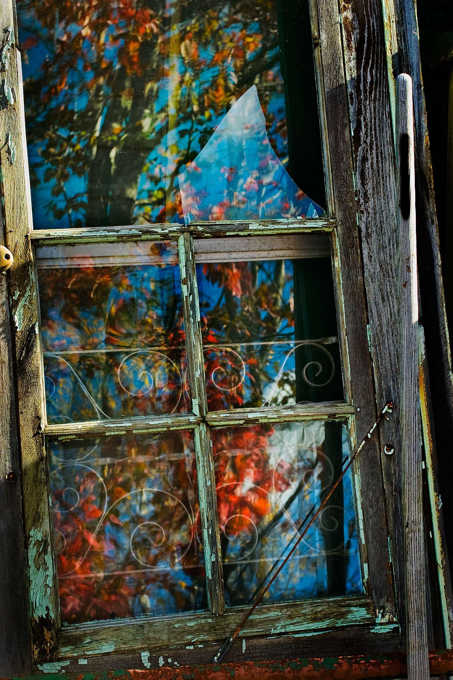 Door and Broken Glass, Bar Harbor, Maine, 2008