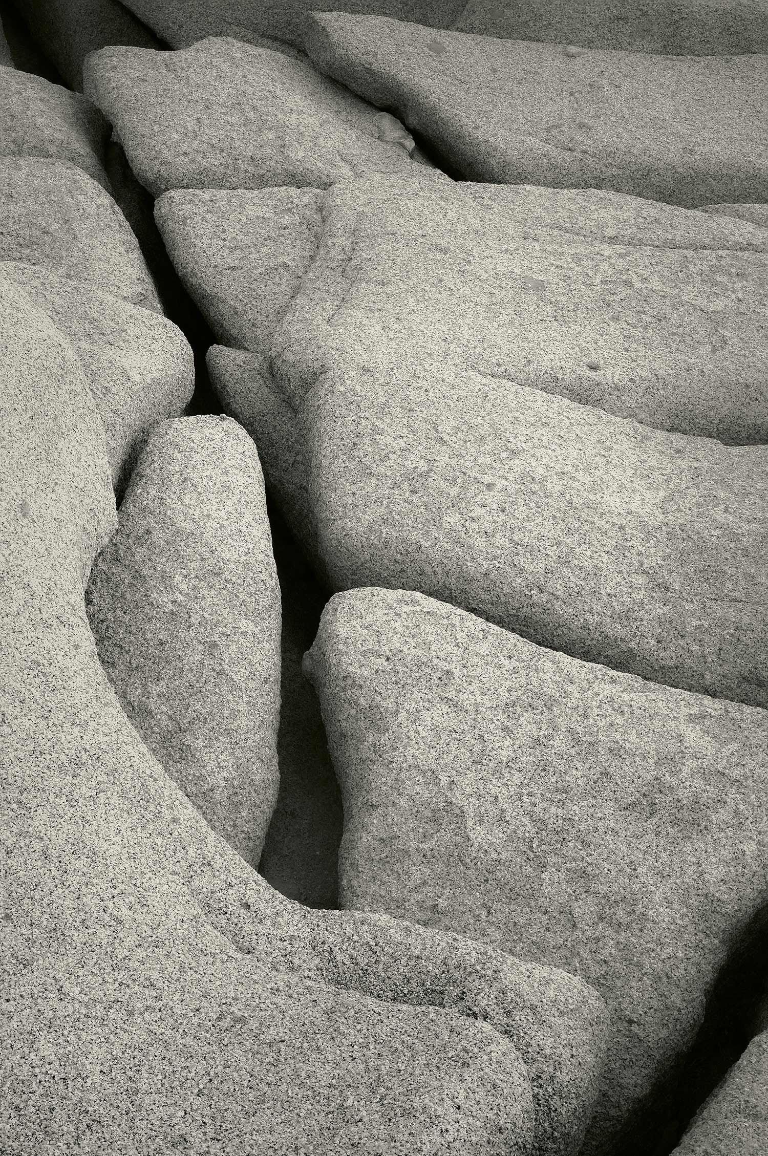 Rocks, Acadia National Park, Maine, 2013