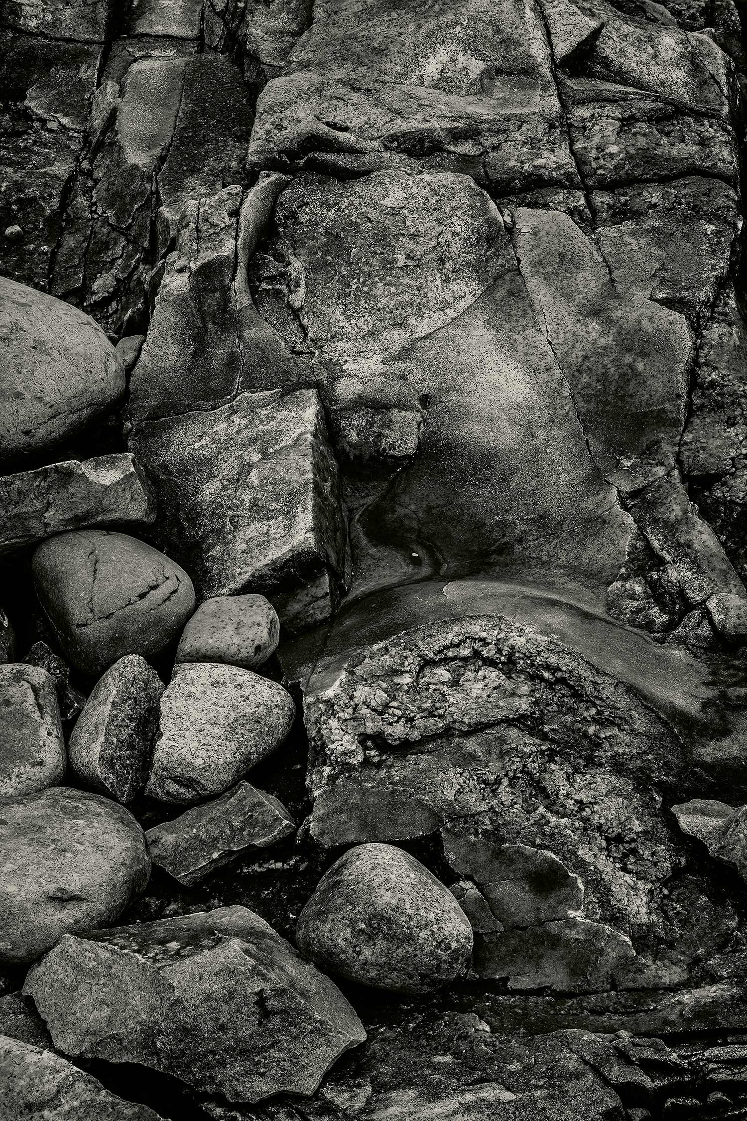 Rocks, Seawall, Maine, 2013