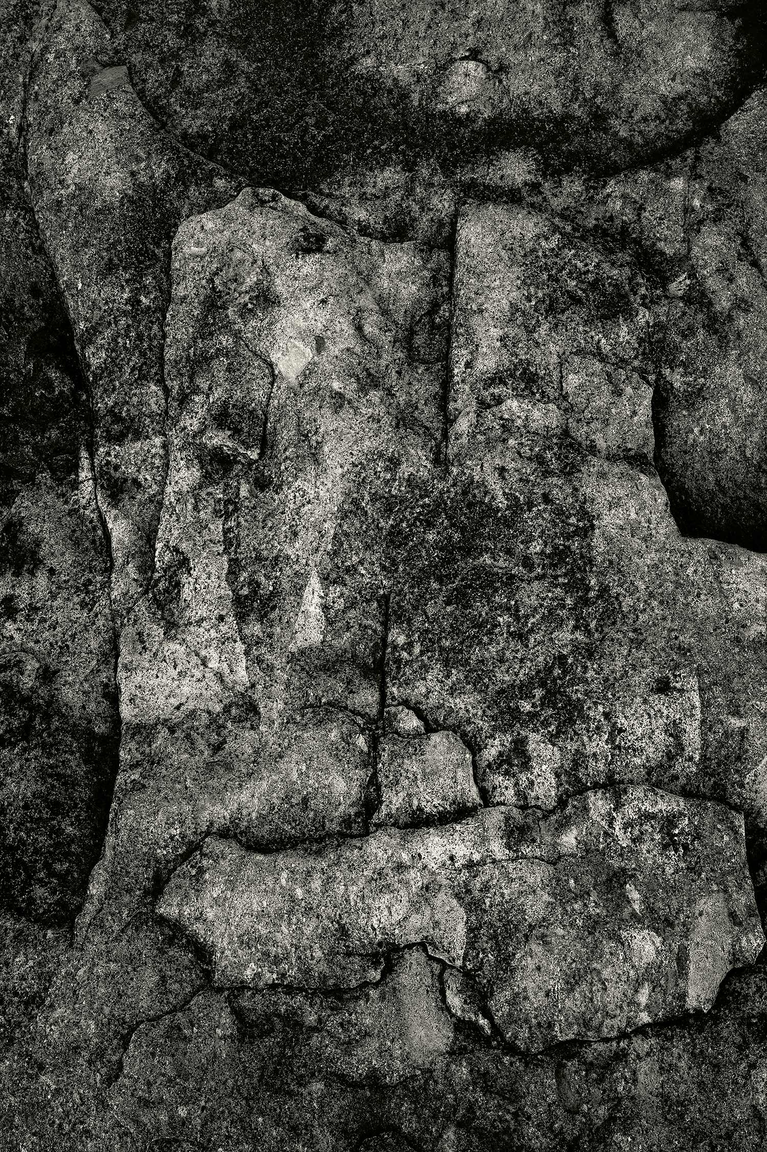 Rock, Seawall, Maine, 2013