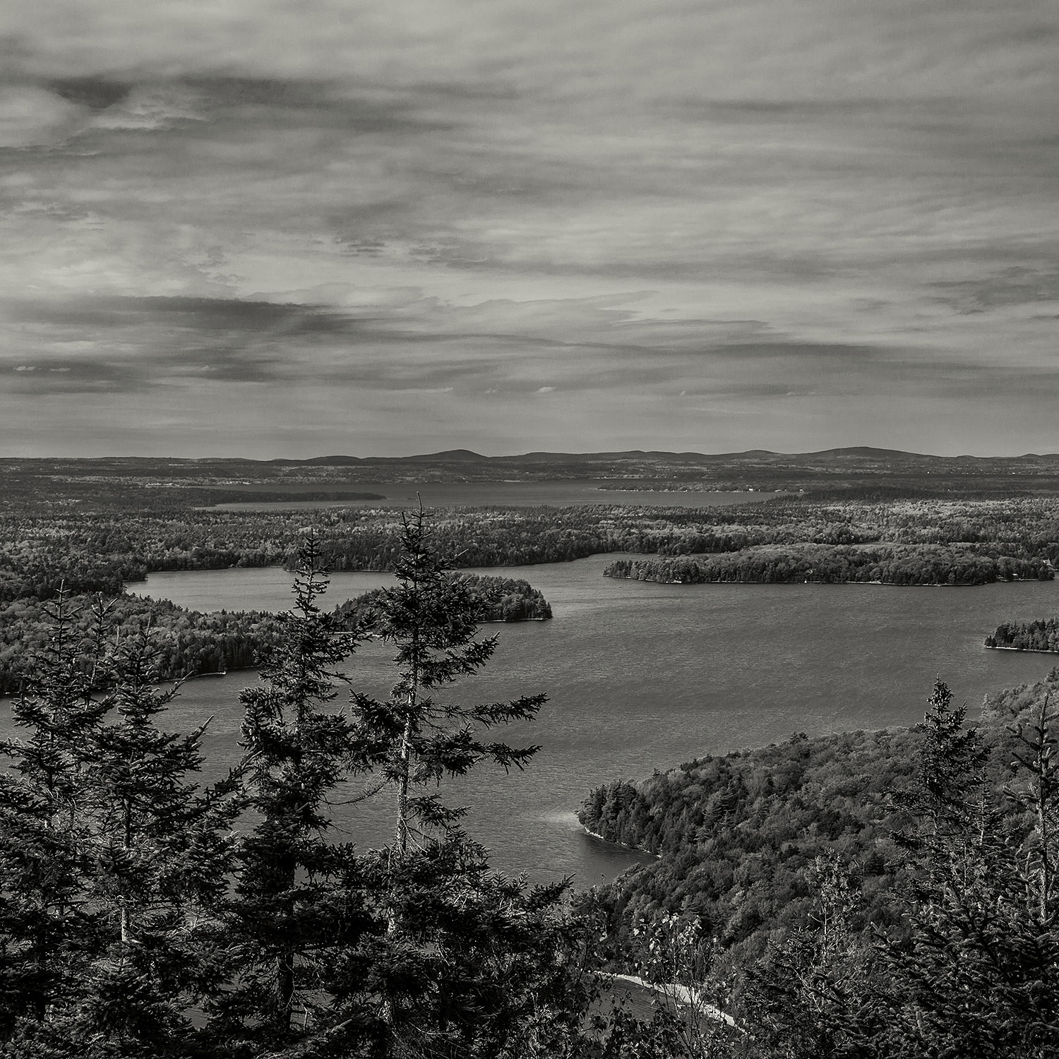 View from Beech Mountain, Acadia, 2017