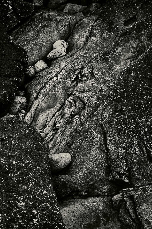 Rocks, Seawall, Maine, 2013