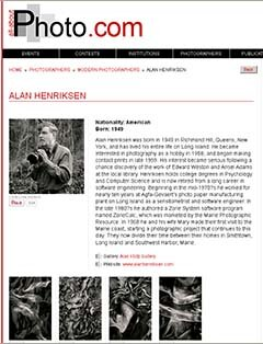 All-About Photo.com Modern Photographer Directory