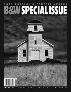 Black & White Magazine, August 2009, Issue 68  2009 Portfolio Contest  Excellence Award