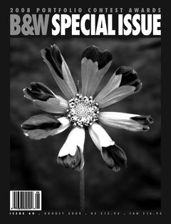 Black & White Magazine, August 2008, Issue 60  2008 Portfolio Contest  Merit Award