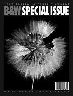 Black & White Magazine, August 2007, Issue 52  2007 Portfolio Contest  Excellence Award
