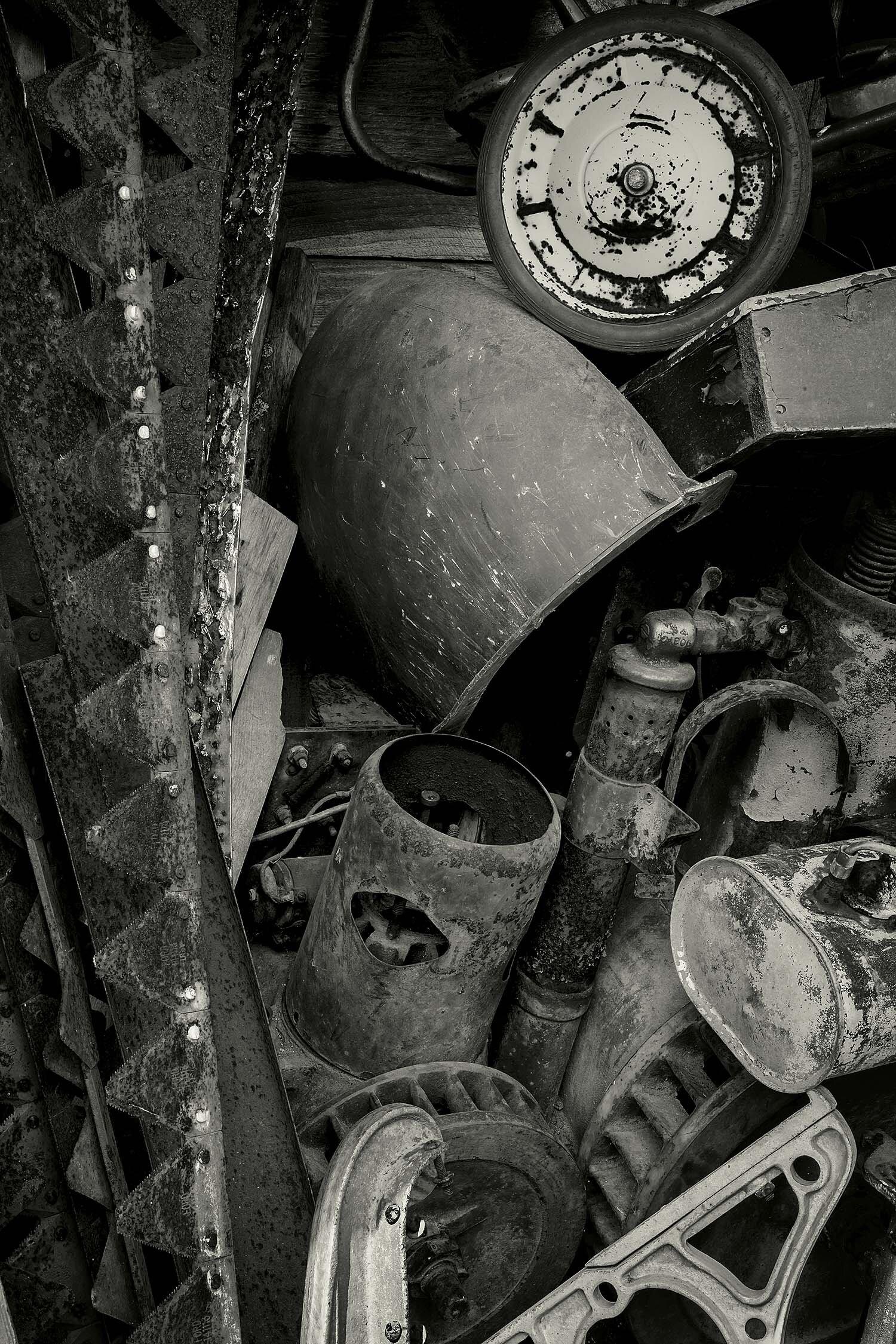 Metal Junk, Searsport, Maine, 2013