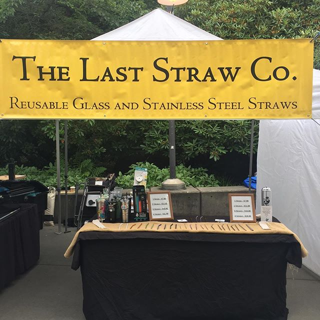 The Last Straw will be at Seattle Center this weekend for The Bite of Seattle, come on down and get a reusable Straw or cup. #seattle #seattlecenter #biteofseattle #reusablestraw #reusablestraws #ecofriendly