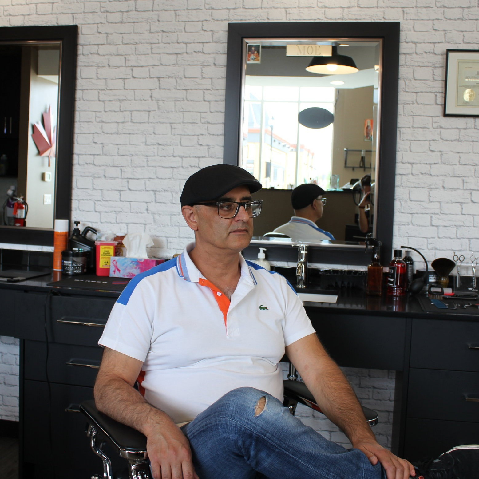 Moe KharfanOwneR - With over 12 years of experience and his Canadian Red Seal in hairstyling, you can trust that Moe will give you a great haircut that will meet your highest expectations. Moe believes in customer care and great services, pays careful attention to his clients, and has earned their continuous trust.