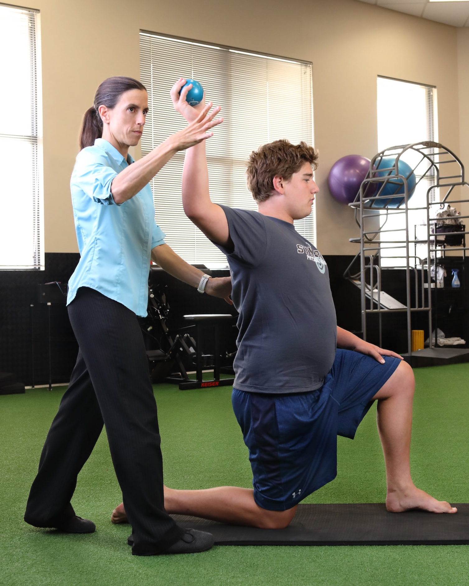 Orthopedic Physical Therapy - At SynergiePT, we combine our trained eyes with technology to identify specific imbalances and risks for injury and uncover the cause of a patient's loss in power, strength and/or speed. Our therapists incorporate focused biomechanical analysis and neuromuscular retraining for recovery and prevention of re-injury.We don't stop treatment at the tissue level — we help train the brain to fix the mechanics during everyday functional movements. Whether it is running, dancing, swinging a tennis racket, or throwing a water polo ball, we'll pinpoint the movement patterns causing your symptoms and get you back to the activities you love doing, pain-free.