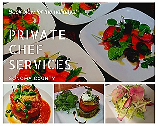 PRIVATE CHEF SERVICES    BOOK NOW FOR THE HOLIDAYS!