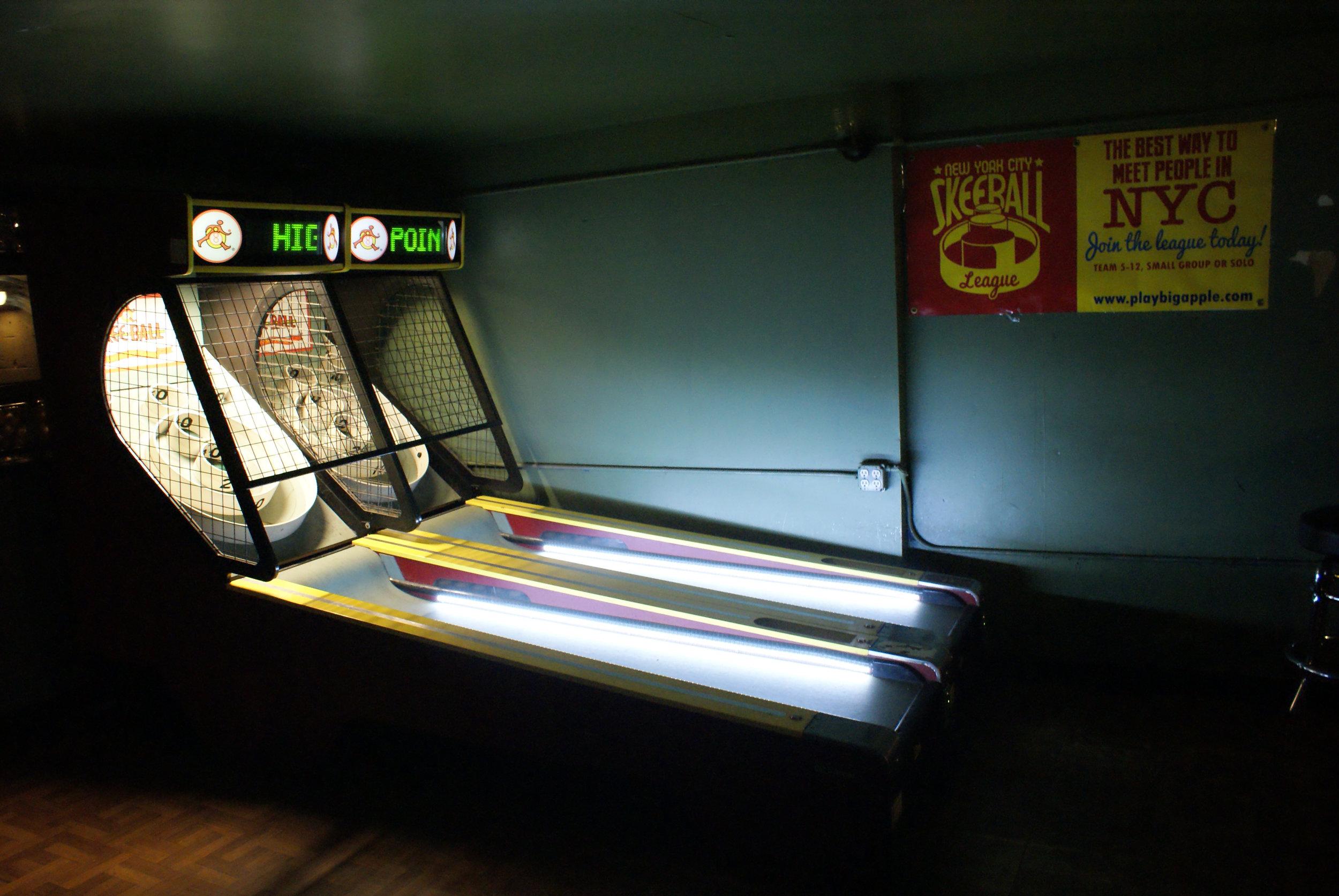 Skeeball Machine