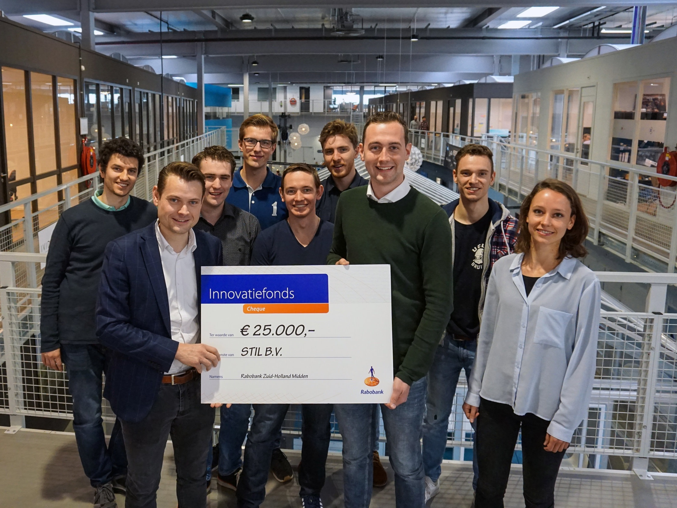 STIL receives a grant from the Rabobank Innovation Fund - March 2019The Rabobank Innovation Fund supports startups in their early phase. STIL received a grant which will be used to optimize the brace for patient use and to overcome regulatory aspects.