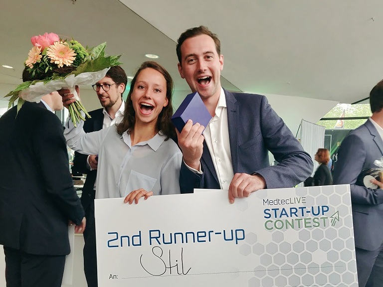 MedtecLIVE - May 2019STIL was present at the 3-day MedtecLIVE event in Nürnberg, Germany. A lot of people showed their interest at our stand. Moreover, we were one of the ten finalists in the pitching contest and won the third prize!
