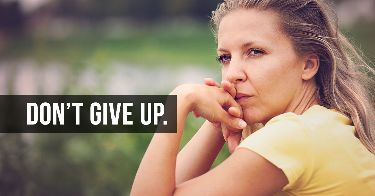 - Find recovery and support services near you. Don't give up.