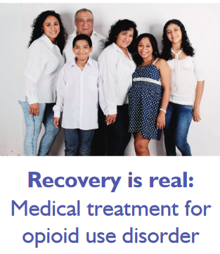 Patient-Friendly Medical Treatment for Opioid Use Disorder Brochure
