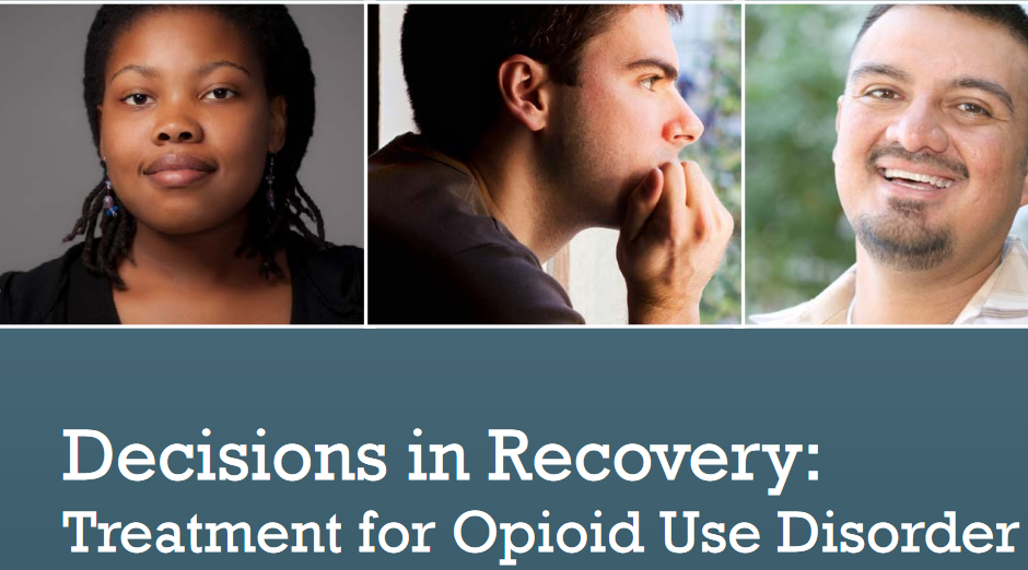 SAMHSA – Decisions in Recovery Handbook